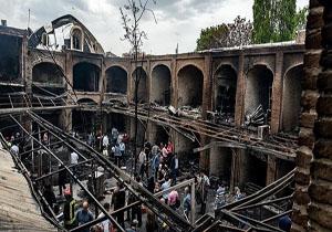 عکس از بیمه ها ۶۷٫۵ میلیاردریال به حادثه بازار تبریز غرامت پرداختند