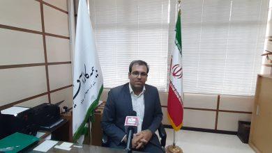 عکس از مصاحبه اقتصادناب با مهندس میثم درخشان مدیر بیمه کارآفرین استان کرمانشاه