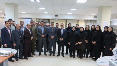 عکس از تقدیر استاندار گیلان از خدمات و توانمندیهای بیمه ایران