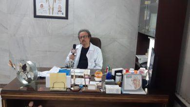 عکس از مصاحبه با دکترمرتضی فرشچیان متخصص ارتوپدی