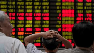 عکس از سهام آسیا- اقیانوسیه سقوط کردند